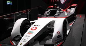 Formule E : nos photos de la Porsche 99X au Salon de Francfort