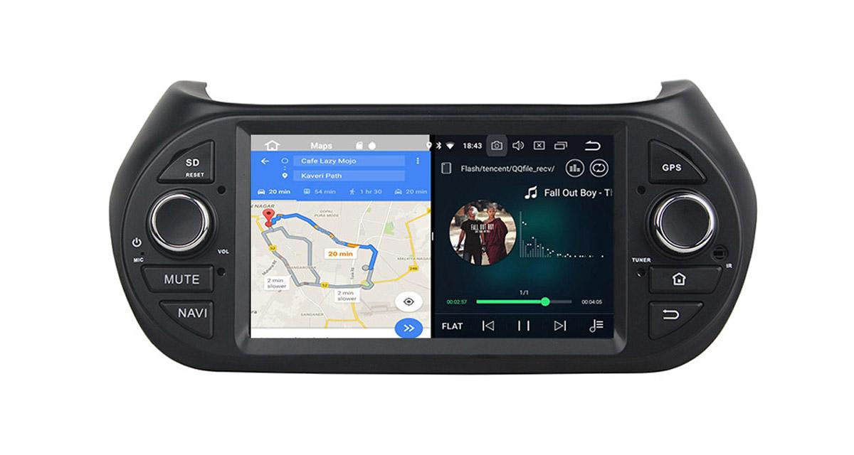 "Un autoradio Android 8 ""plug and play"" pour le Citroën Nemo de 2008 à 2015"