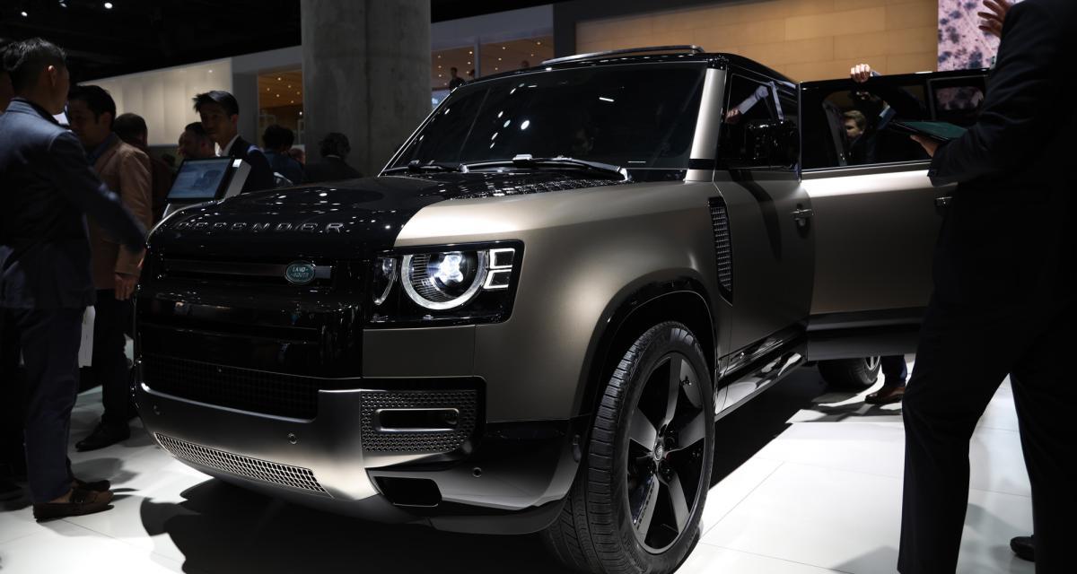 Nouveau Land Rover Defender : nos photos du tout-terrain mythique remasterisé au Salon de Francfort 2019