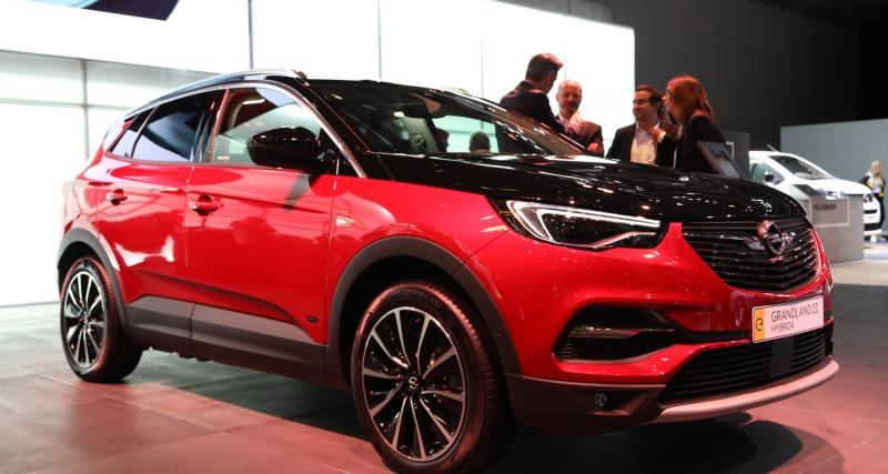 Opel Grandland X Hybrid4 : SUV rechargeable de 300 chevaux, nos photos à Francfort