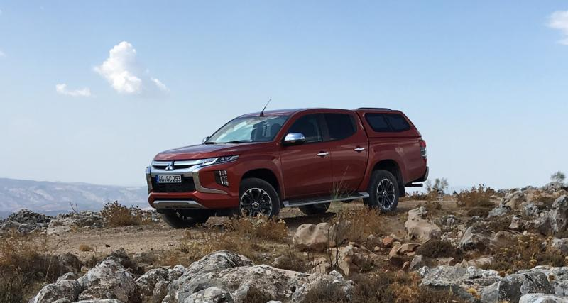 Nouveau Mitsubishi L200 : les photos de notre essai du pick-up fort en gueule