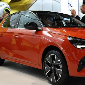 Opel Corsa-e : nos photos de la citadine 100 % électrique au salon de Francfort 2019