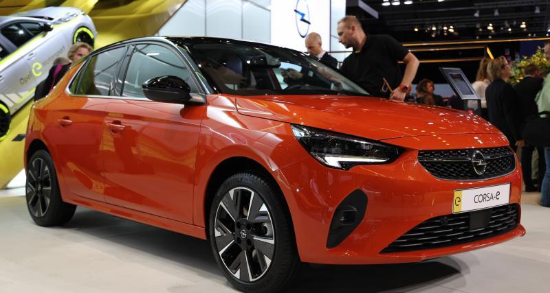 Opel Corsa-e : nos photos de la citadine 100 % électrique au salon de Francfort 2019