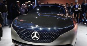 Mercedes EQS Concept : le futur grand luxe de la marque allemande en 3 points