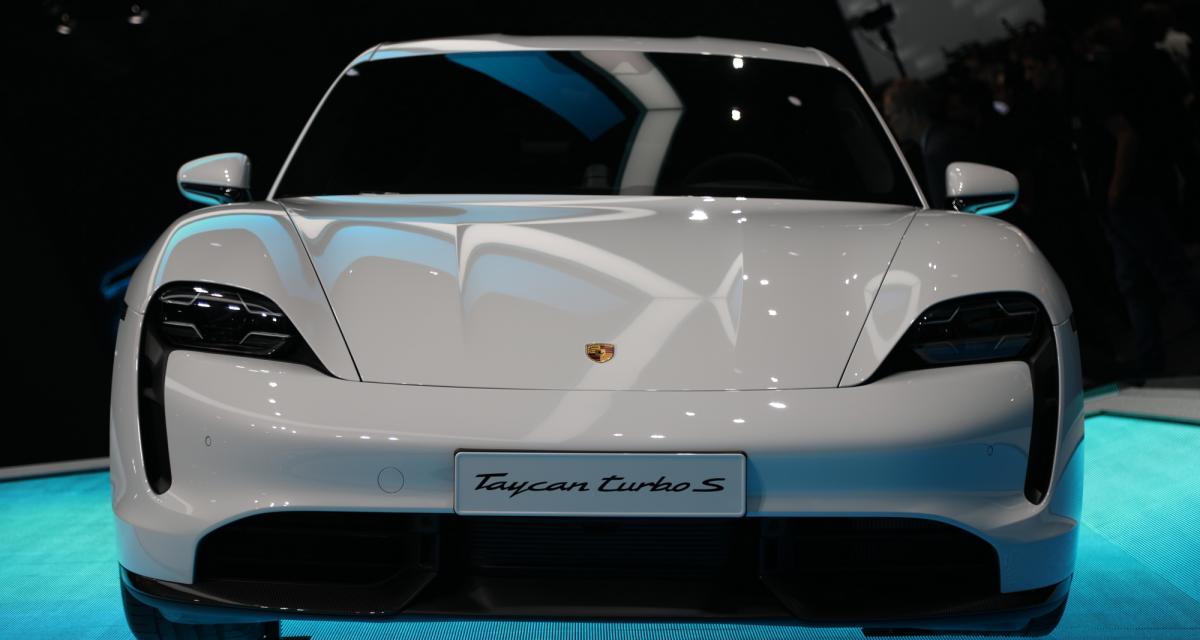 La Porsche Taycan au Salon de Francfort 2019 en 4 points