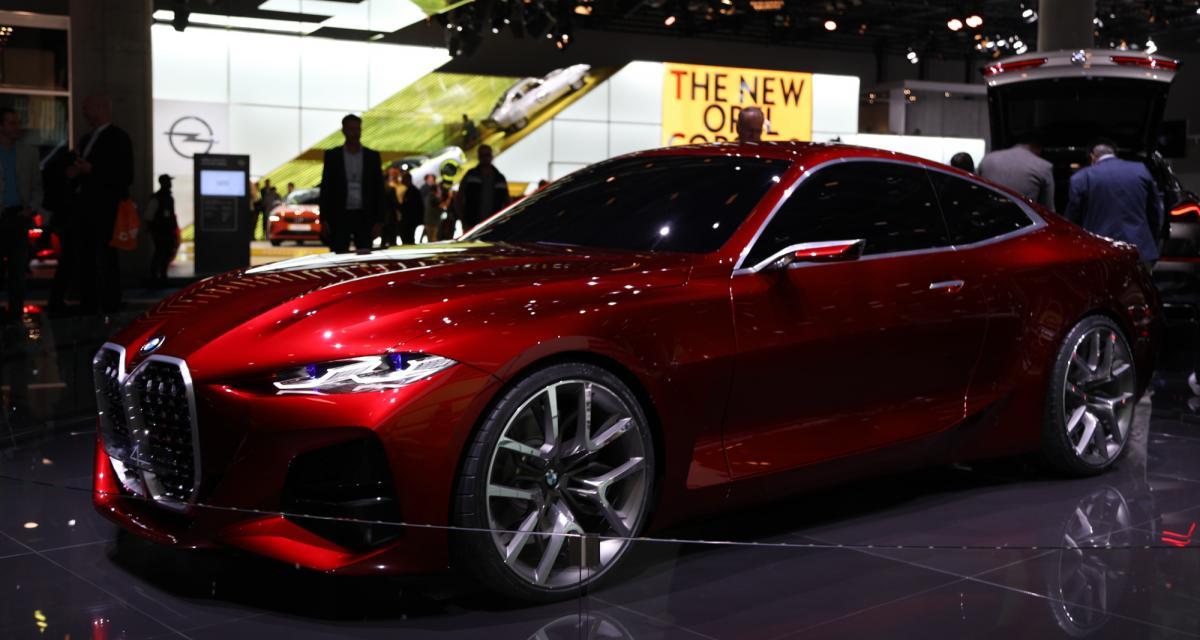 Le design de la BMW Concept 4 en 4 points