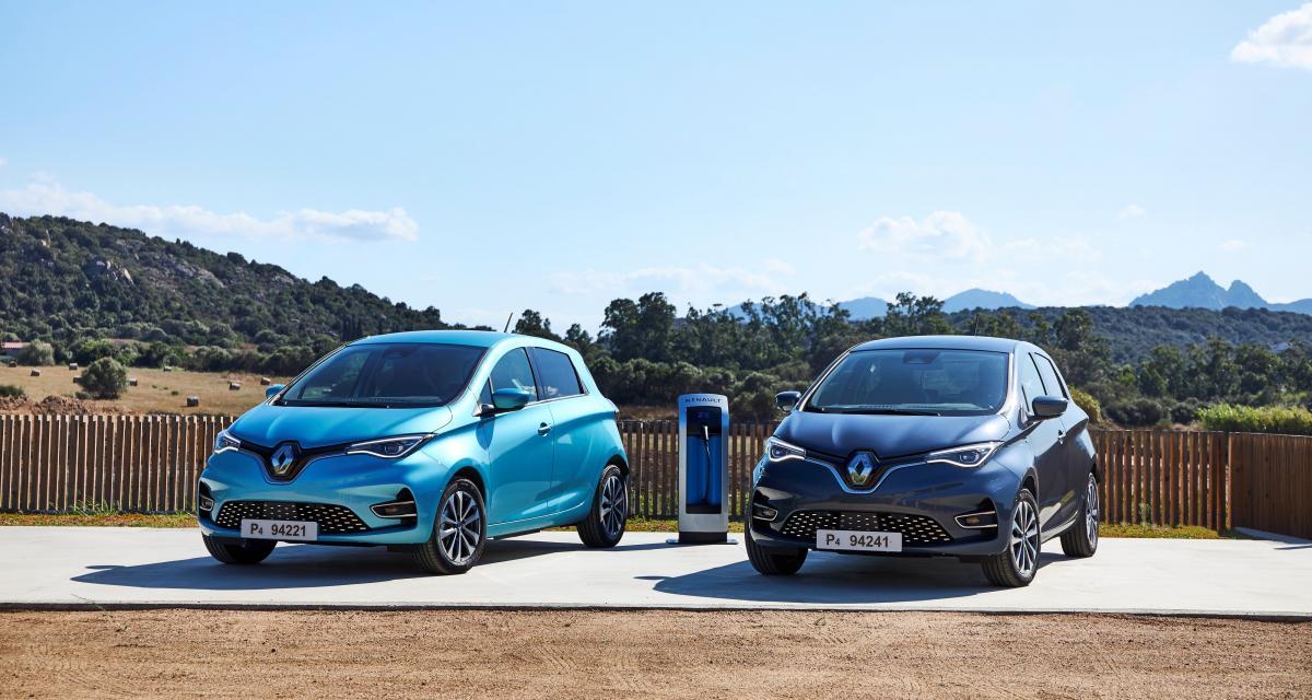 Nouvelle Renault Zoe : les photos officielles de l'essai en Sardaigne