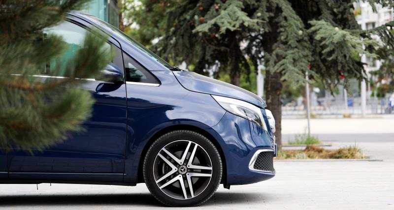 Mercedes Classe V : les photos de notre navette Paris - Francfort !