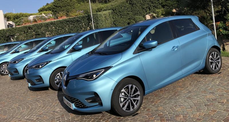 Nouvelle Renault Zoé : les premières photos de notre essai en Sardaigne