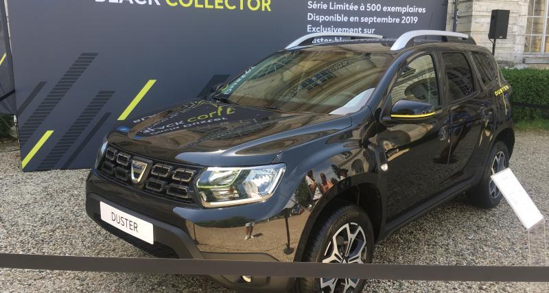 Dacia Duster Black Collector : la série limitée enfin disponible !