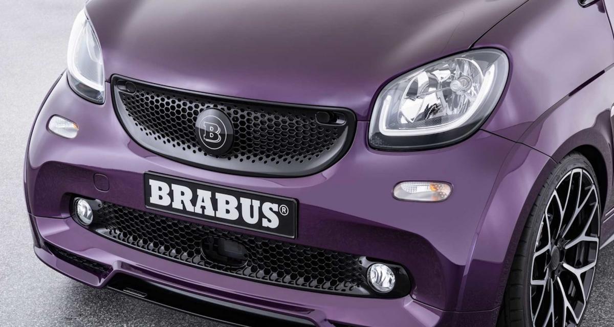 Brabus Ultimate E : une Smart électrique boostée par le préparateur
