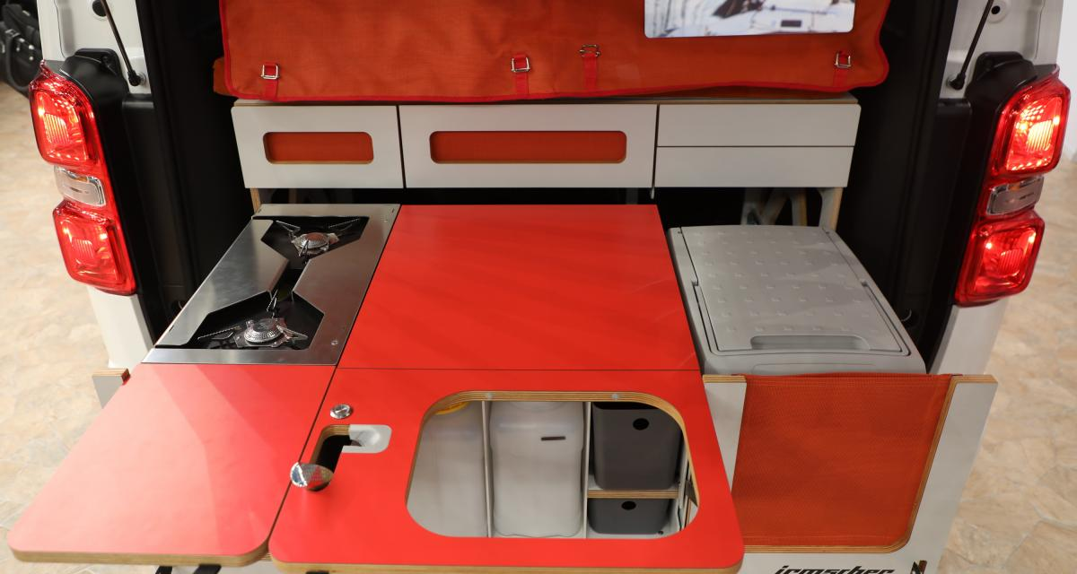 Camping-car Peugeot Traveller i-Box Irmscher: magic box