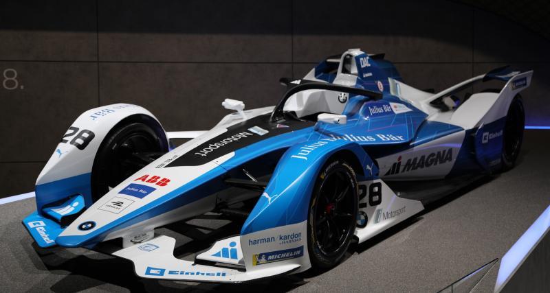 Formule E : nos photos de la BMW i Andretti Motorsport