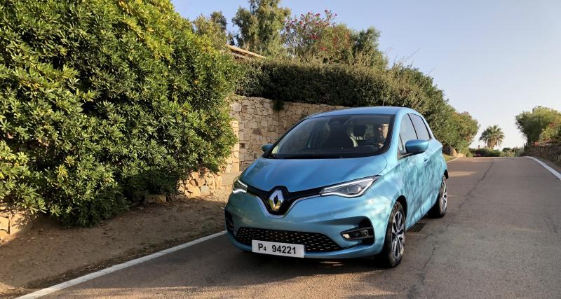 Essai de la Nouvelle Renault Zoé : work in progress