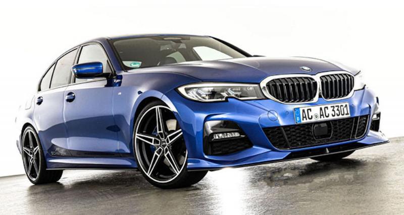 BMW Série 3 (G20) : les accessoires AC Schnitzer pour la berline allemande