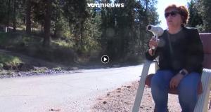 Une femme veut mettre fin aux excès de vitesse avec un sèche-cheveux