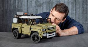 Land Rover Defender : la version Lego Technic disponible le 1er Octobre
