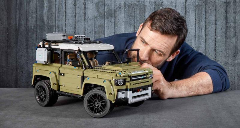 Land Rover Defender : la version Lego Technic disponible le 1er Octobre