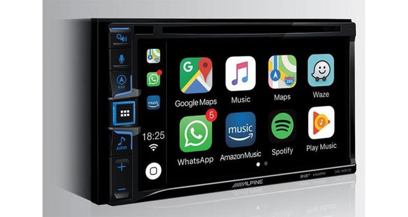 Alpine dévoile un nouvel autoradio CarPlay et Android Auto
