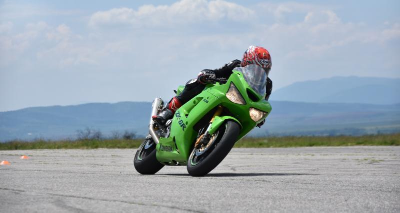 Flashé au guidon de sa moto à 230 km/h sur une nationale !
