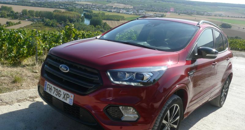 Ford Kuga Flexifuel-E85 : nos photos du SUV carburant à l'éthanol