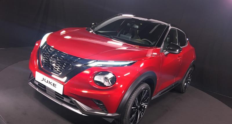 Nouveau Nissan Juke: à partir de 19 990 euros, tous les prix