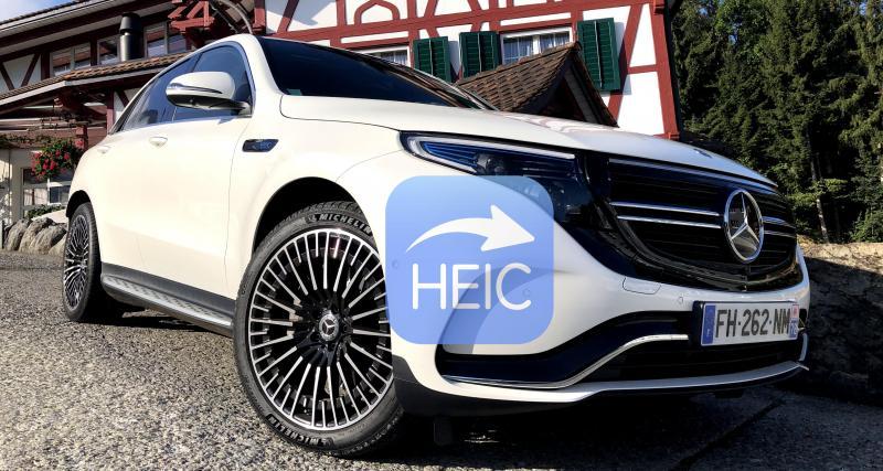 Nouveau Mercedes EQC électrique : toutes nos photos de l'essai du SUV