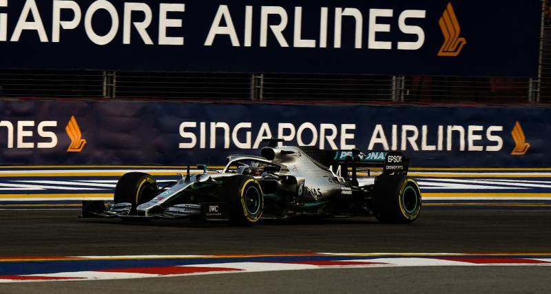 La course du Grand Prix de Singapour en streaming