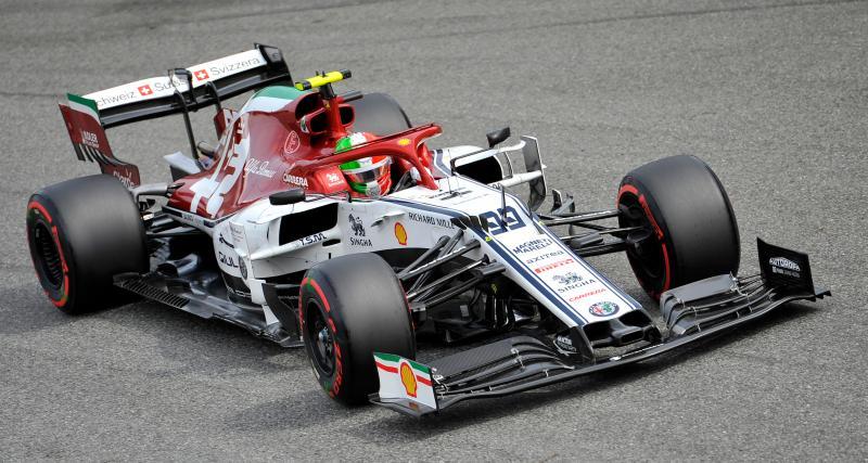 Grand Prix de Singapour de F1 : Giovinazzi en tête devant Gasly !