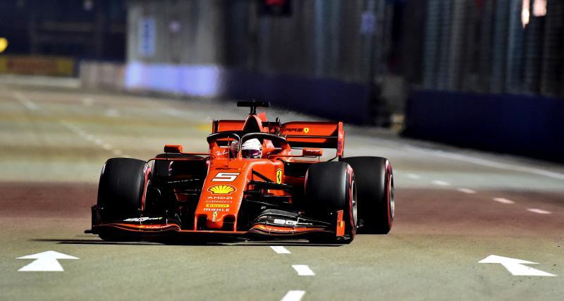 Grand Prix de Singapour de F1 : le contact entre Vettel et Gasly en vidéo !