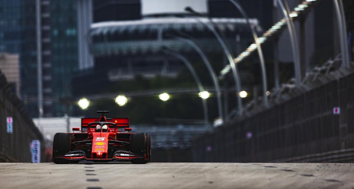 Grand Prix de Singapour de F1 : le restart après la Safety Car en vidéo !
