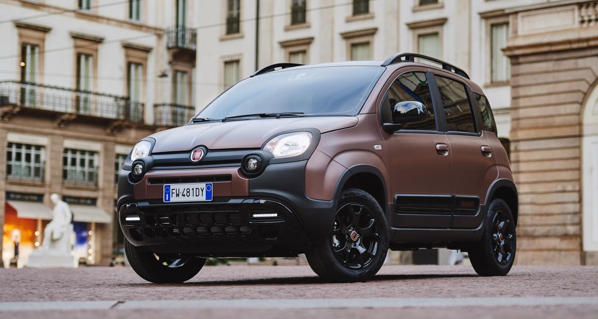 Fiat Panda City Cross Trussardi : la petite italienne en tenue de soirée