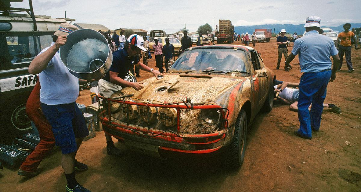 Porsche 911 SC Safari : sueur et métal plié au Safari Rally 78