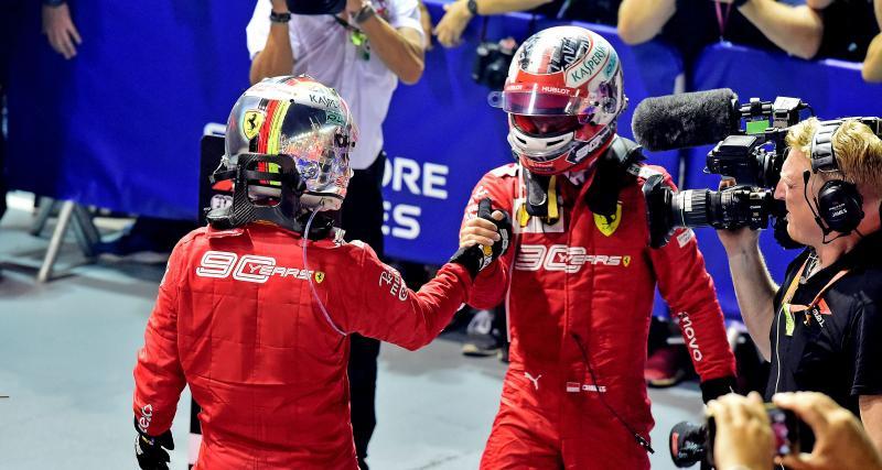 Grand Prix de Russie de F1 : Ferrari a-t-elle eu raison de privilégier Vettel à Singapour ?