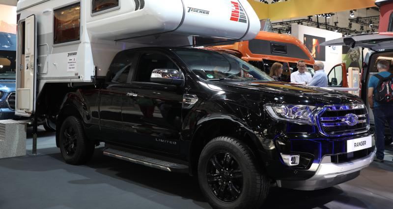 Ford Ranger Tischer : le camping-car amovible