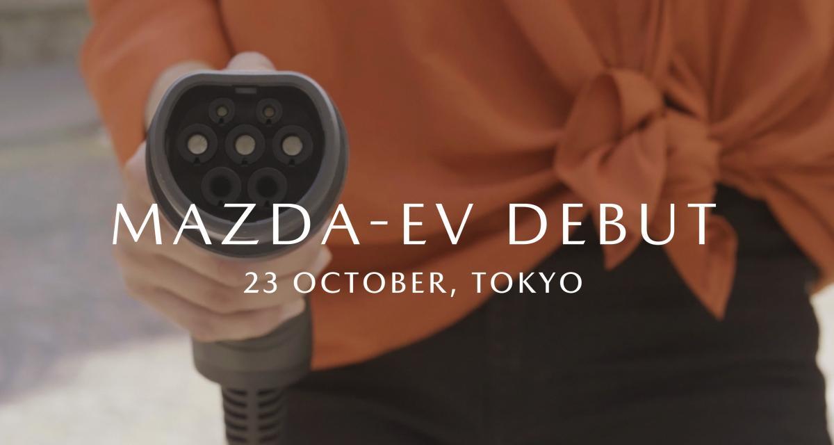 Un SUV Mazda 100% électrique de série en première mondiale à Tokyo