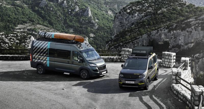 Camping-car Peugeot Boxer 4x4 Concept : le cinquième élément