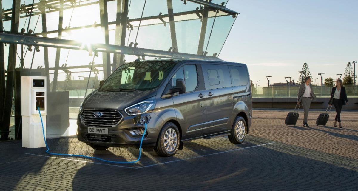 Nouveaux Ford Transit Custom et Tourneo Plug-In Hybrid : alternative au tout-électrique