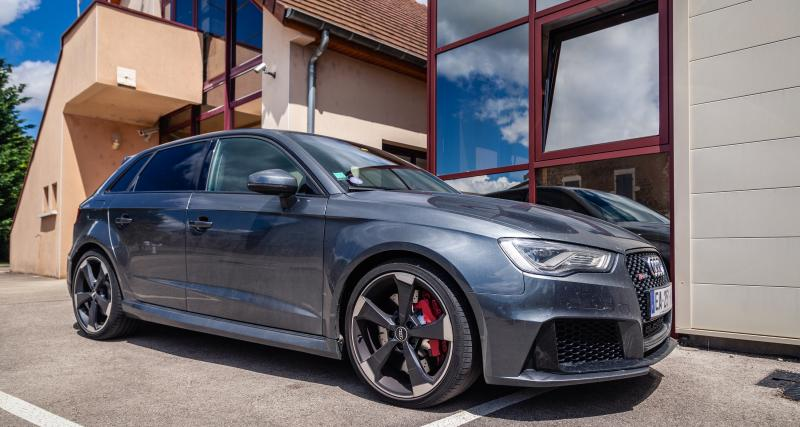 Il se filme en Audi RS3 à 276 km/h sur la nationale 7: il finit en garde à vue
