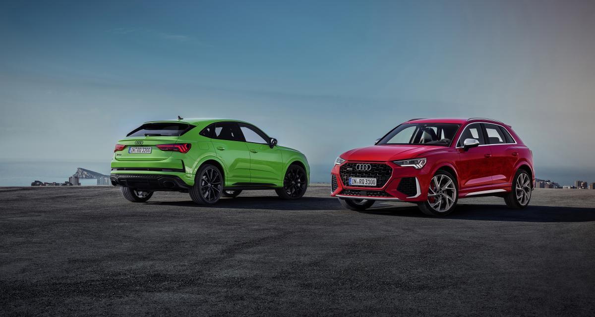 Audi RS Q3 et Audi RS Q3 Sportback : petits SUV très gonflés