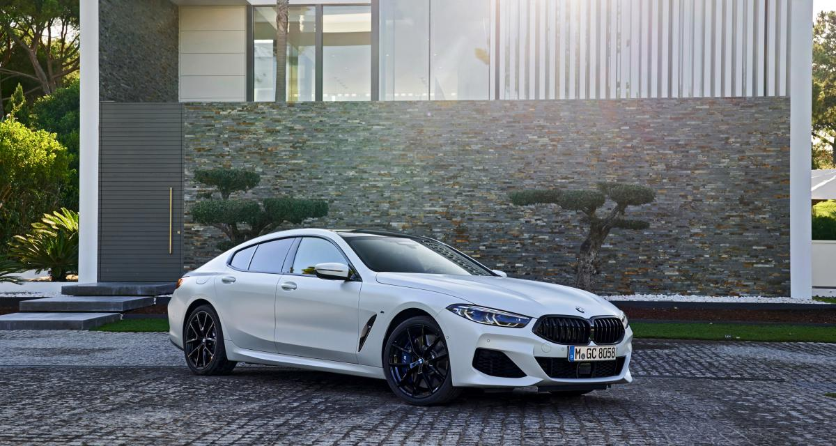 BMWSérie 8 Gran Coupé: les photos de l'essai au Portugal