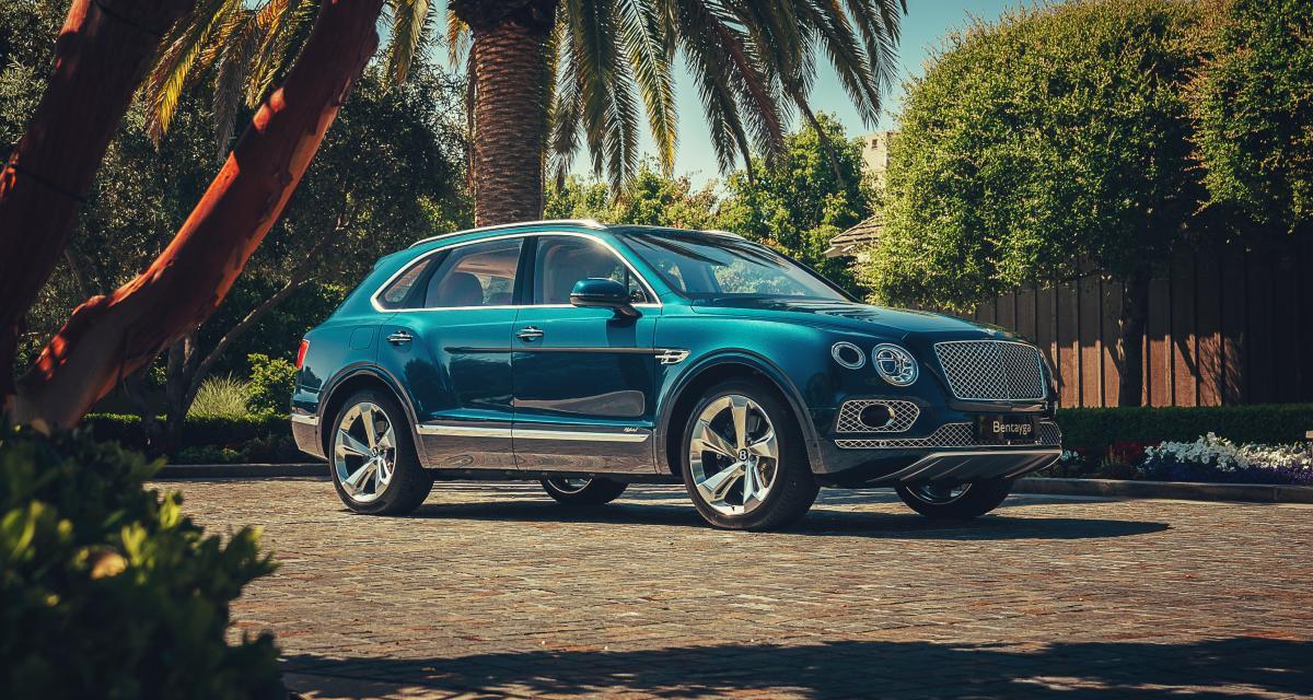 Bentley Bentayga Hybrid : l'ultra-luxe responsable