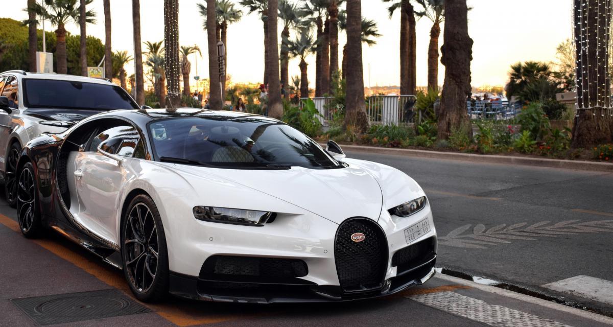 Karim Benzema : il démarre sa Bugatti Chiron sur Instagram