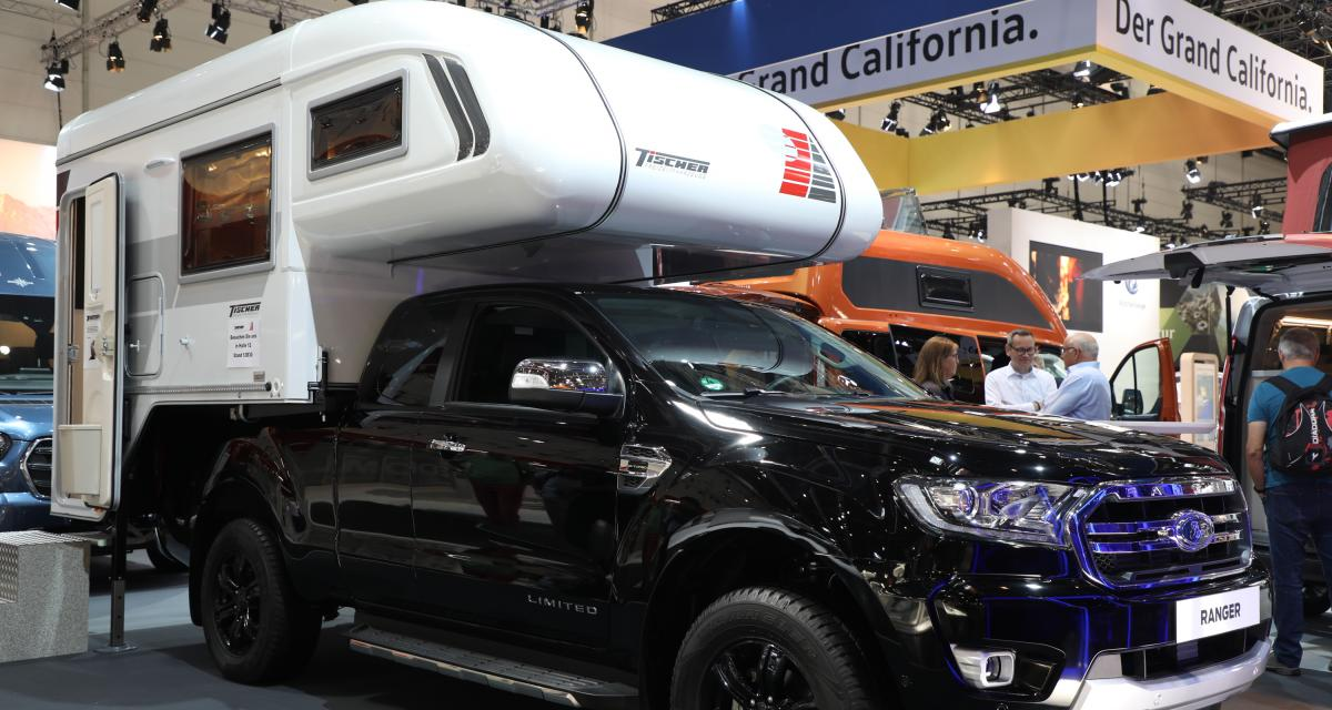Ford Ranger Tischer : le camping-car sac à dos en 3 points
