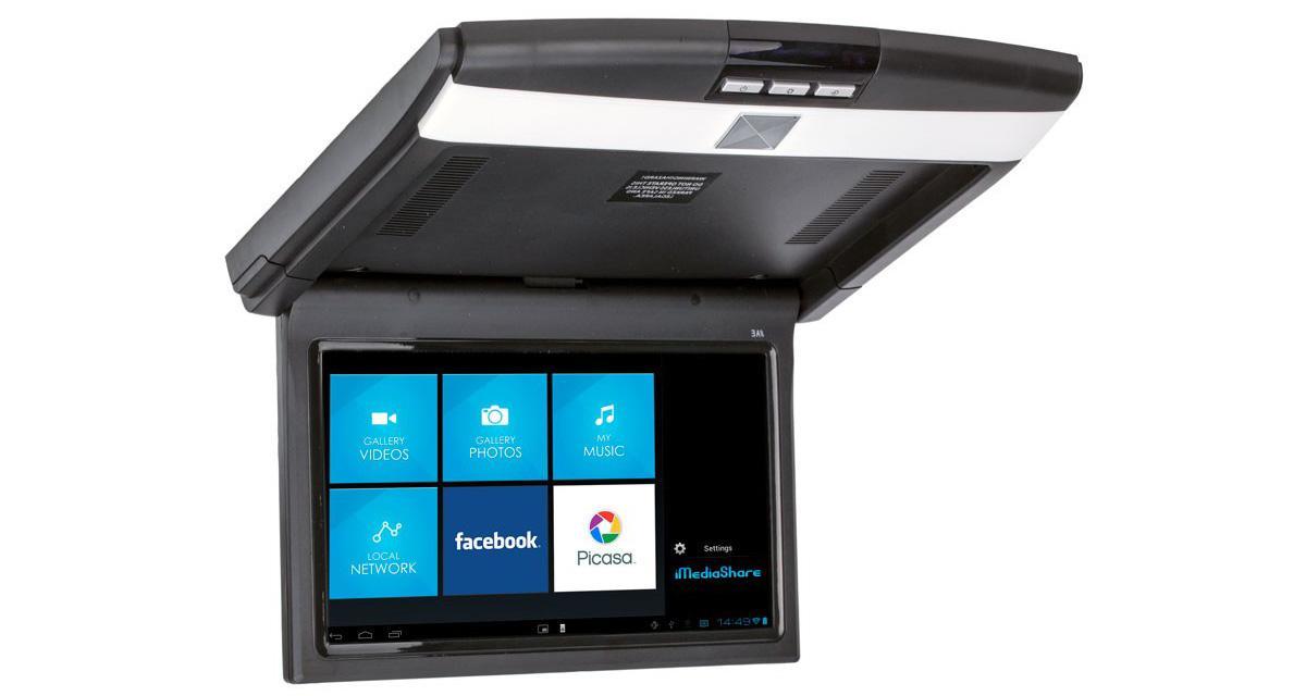 Accele présente un écran plafonnier avec streaming sans fil pour les Smartphones
