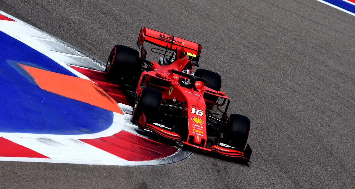 Grand Prix de Russie de F1 : 4e pole de suite pour Leclerc, la grille de départ