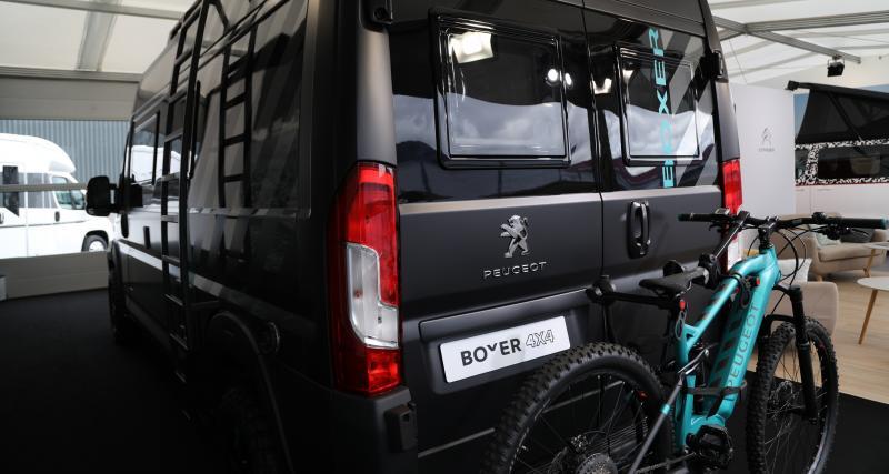 Peugeot Boxer 4x4 Concept : toutes nos photos au salon des véhicules de loisirs