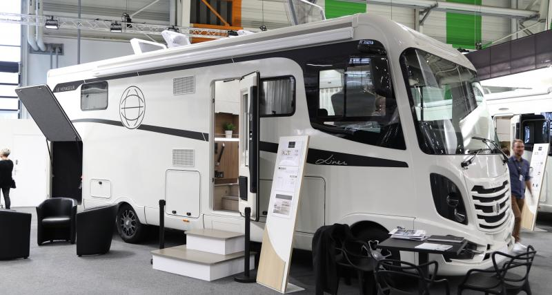 Camping-car Voyageur Liner 8.7 QD : une maison sur quatre roues à 262 000 euros