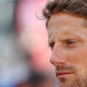 Grand Prix de Russie de F1 : la réaction de Romain Grosjean après son accident en vidéo