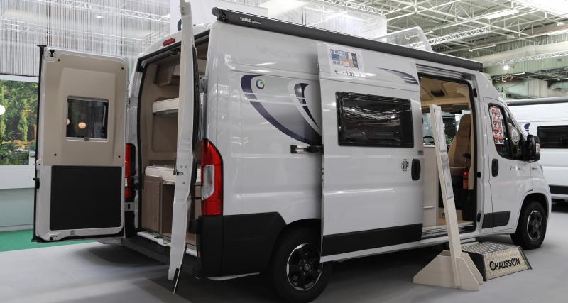 Camping-car Chausson V594 Max : il est libre le van !